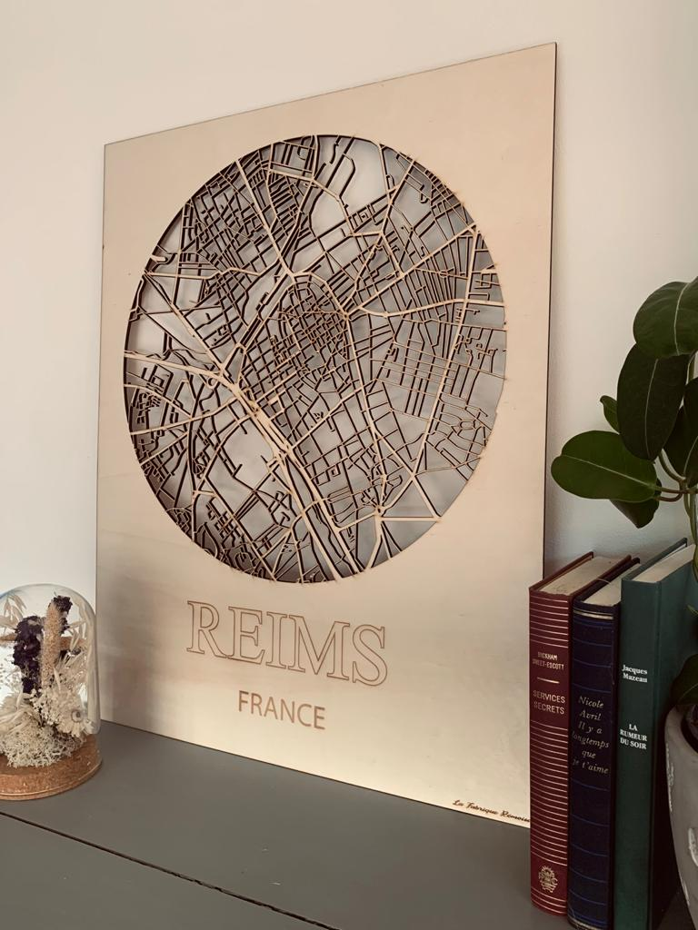Carte de Reims ambiance
