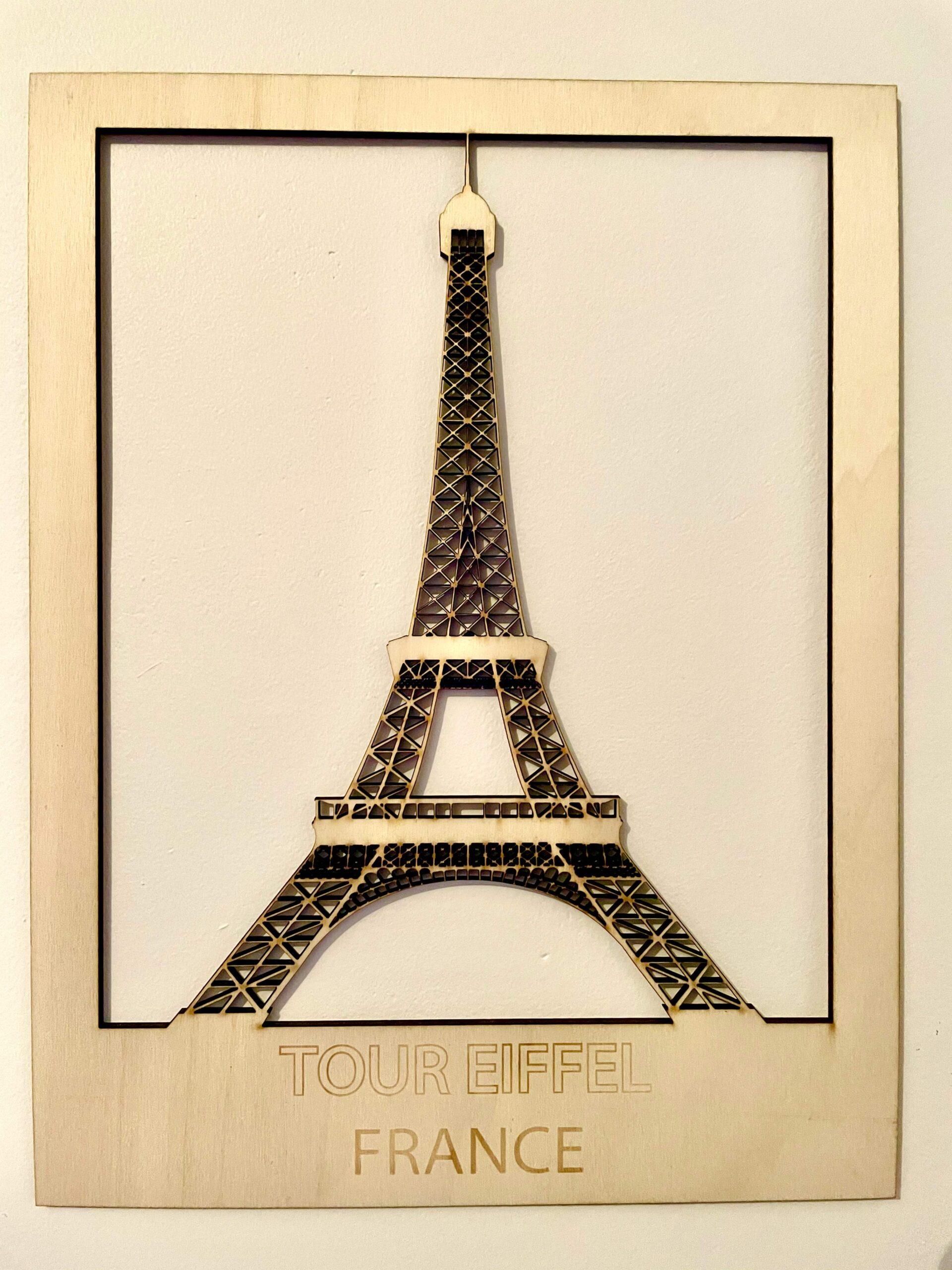 Monument de France Tour Eiffel Paris